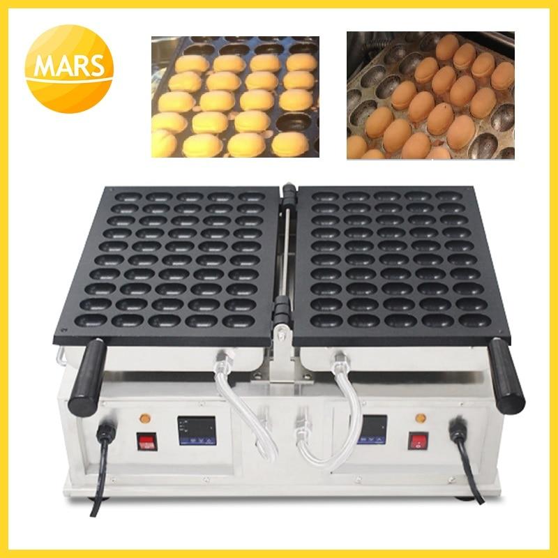 Mars Electric Janpanese Egg Waffle Baby Castella Machine round sponge cake maker Baker Pan Equipment