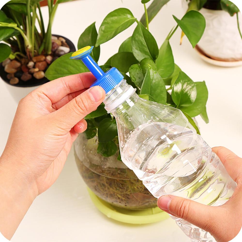 Image 4 - Garden Sprinkler 2019  Bottle Top Watering Garden Plant Sprinkler Water Seed Seedlings Irrigation-in Garden Sprinklers from Home & Garden
