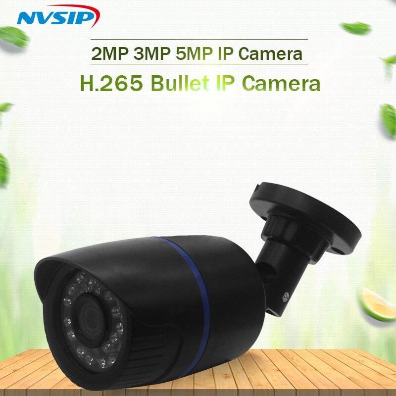 H265 1080P 2MP font b Outdoor b font Waterproof IR IP camera HD Mega Pixels Network