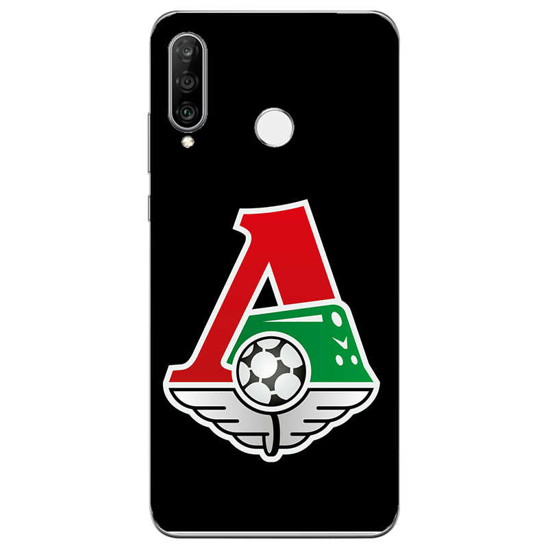 FC Lokomotiv Moscow Football Club Logo Painting Case For Huawei Honor 8A P30 Y6 Y7 Lite Prime Pro 2019 Phone Printed Cover