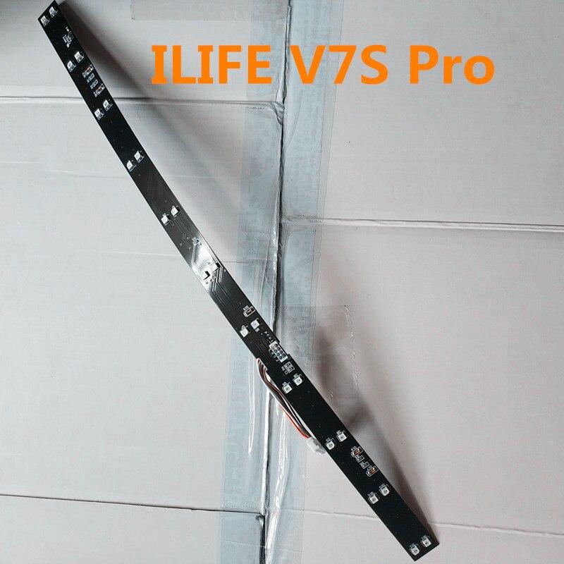 все цены на 1pcs Original IR Light Bar sensor for ILIFE V7S Pro V7 V7S Robot vacuum cleaner accessories parts онлайн