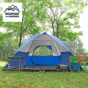 5-6 People Space Camping Tent