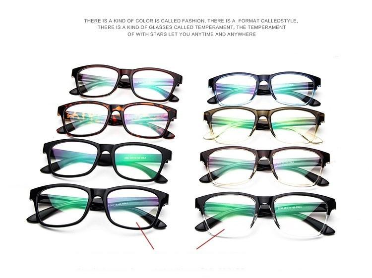 Nerd Computer Coole Brille Männerrahmen Männliche Brillen Optischer - Bekleidungszubehör - Foto 2
