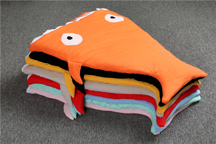 DLY080-Shark-sleeping-bag-Newborn-sleeping-bag-Winter-Stroller-Bed-Swaddle-Blanket-Wrap-cute-baby-bedding-sleeping-bag-Child-4