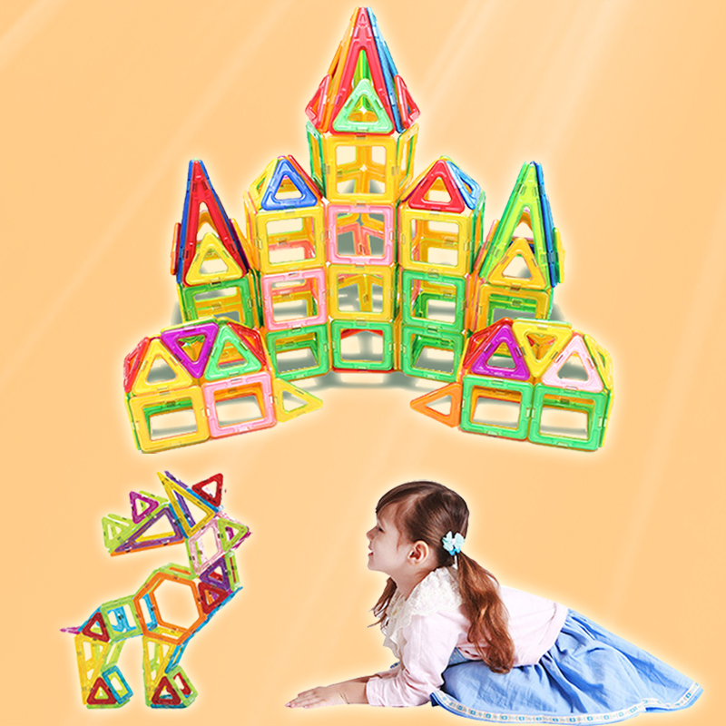 MylitDear 129 PCs Regular Size Castle Enlighten Educational Construction Magnetic Building Blocks Bricks Toys for Children enlighten building blocks military submarine model building blocks 382 pcs diy bricks educational playmobil toys for children
