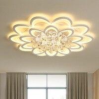 Современная креативная аппаратная акриловая Хрустальная потолочная лампа для гостиной лампа в спальне Коммерческая декоративная лампа