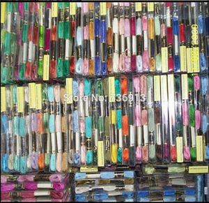 Image 3 - 당신은 어떤 색상을 선택할 수 있습니다 유사 dmc 1 lot = 2682 pieces 자수 스레드 원사 치실