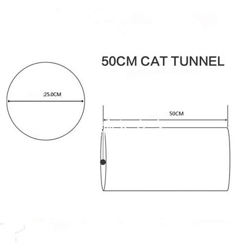 5 farben Kleine Tiere Tunnel und Rohre 25*50 cm Kaninchen Frettchen Guinea Schwein Katze Tunnel mit Spaß Glocke faltbare Kleine Haustiere Spielzeug