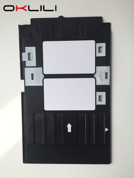 PVC ID Card Tray Plastic card Printing Tray for Epson R260 R265 R270 R280 R290 R380 R390 RX680 T50 T60 A50 P50 L800 L801