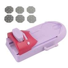 цена на High Quality Nail Art Printer Set DIY Pattern Stamp Printing Machine Stamper Manicure Tools