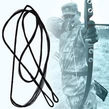 Различные Размеры нейлоновая сумка для отдыха на открытом воздухе Замена стрелка веревка тетива прочный изогнутый тетива для лука Регулируемая снасти стрельба из лука