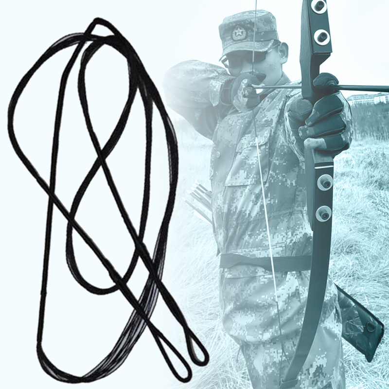 Various Size Nylon Outdoor Replacement Arrow Rope Bowstring Durable Recurve Bow Strings Adjustable Tackle Archery