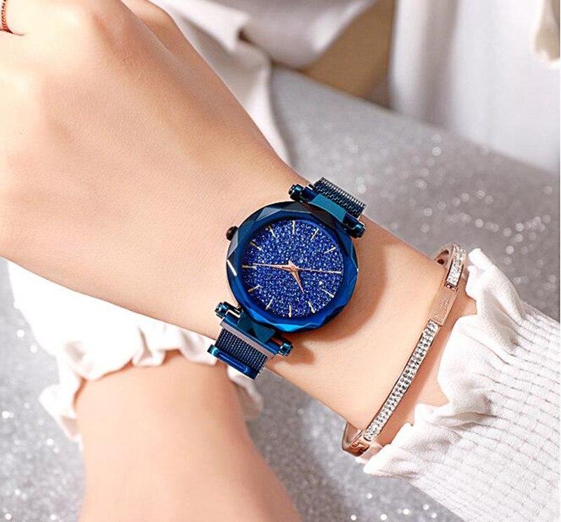 Das Mulheres Ímã Fivela Vestido Relógios Japão