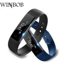 Gutighala Smart Bracelet ID115 wrist band step counter vibration watch Veryfit Smartband for xiomi pk fit
