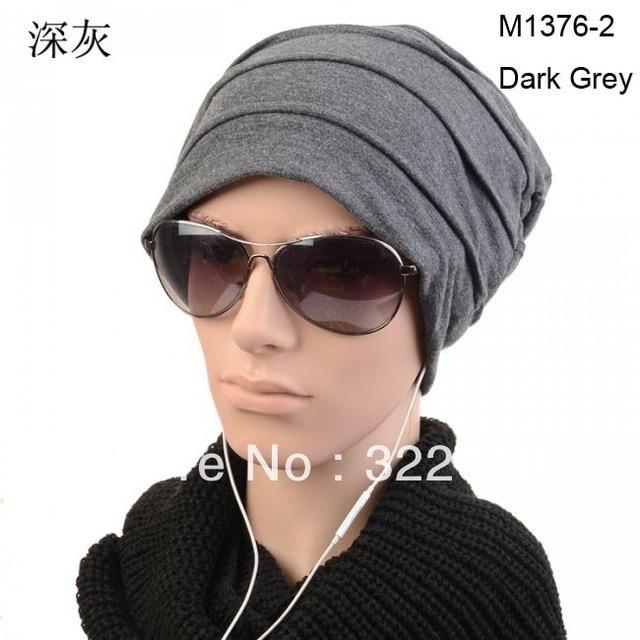 Wholesale10pcs Designer Men Skull Beanies Hats Women Skullies Beanie  Oversied Caps Mens Spring Slouch Cap Womens Fall Baggy Hat b8917f5a072