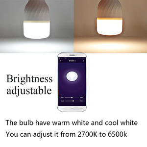 Image 3 - E27 ampoule wifi Bulb led lamp 9W connect Smart Life bombilla inteligente alexa google assistant for home dropshipping Joneaz
