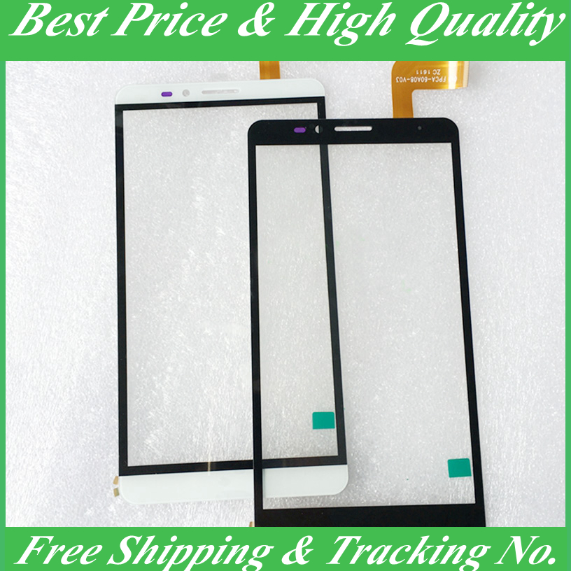 White Brand New Ginzzu <font><b>ST6040</b></font> Touch Screen Digitizer Panel Replacement For Ginzzu ST 6040,Free Shipping with tracking NO. image