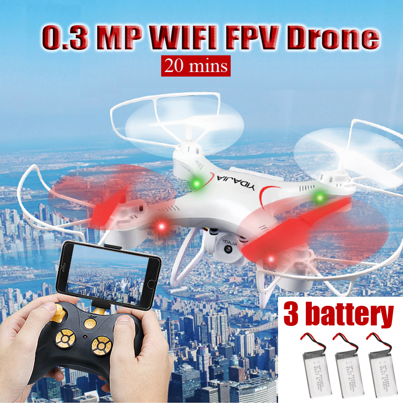 0.3 MP WiFi FPV Drone RC Quadcopter with Altitude Hold Real-time Transmission Headless Mode Dron Helicopter Toys for Boys 0.3 MP WiFi FPV Drone RC Quadcopter with Altitude Hold Real-time Transmission Headless Mode Dron Helicopter Toys for Boys