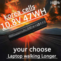 HSW 47WH batería del ordenador portátil para HP pabellón DV4 DV5 DV6 CQ40 CQ41 CQ45 CQ50 CQ60 batteria CQ61 QC70 CQ71 G50 g60 G70 G71