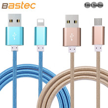 Micro USB Cable 2 1A 1M 1 5M Data Sync Cable Charge For iphone 6 6s