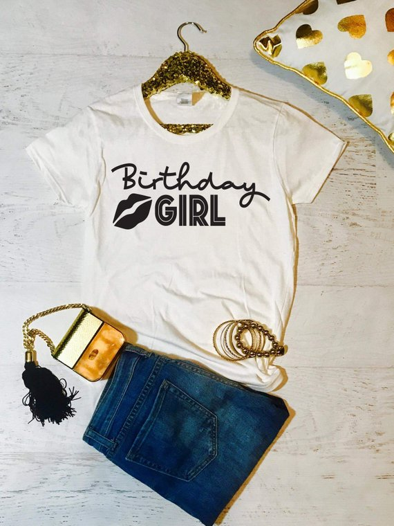 245194080 Sugarbaby Birthday Shirt Women Squad Short Sleeve Girl T High Quality  Casual Top Gift