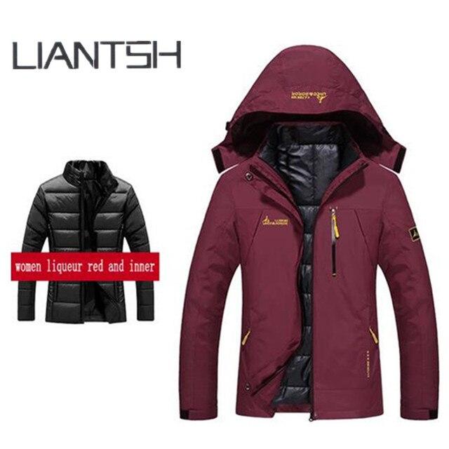 24501e19df66 2017 Winter Warm Fleece Best Outdoor Jackets for Women