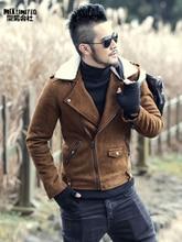Winter leather jackets Men Faux Fur Coats Men s Leather Jacket Casual Motorcycle Leather Jacket Thicken
