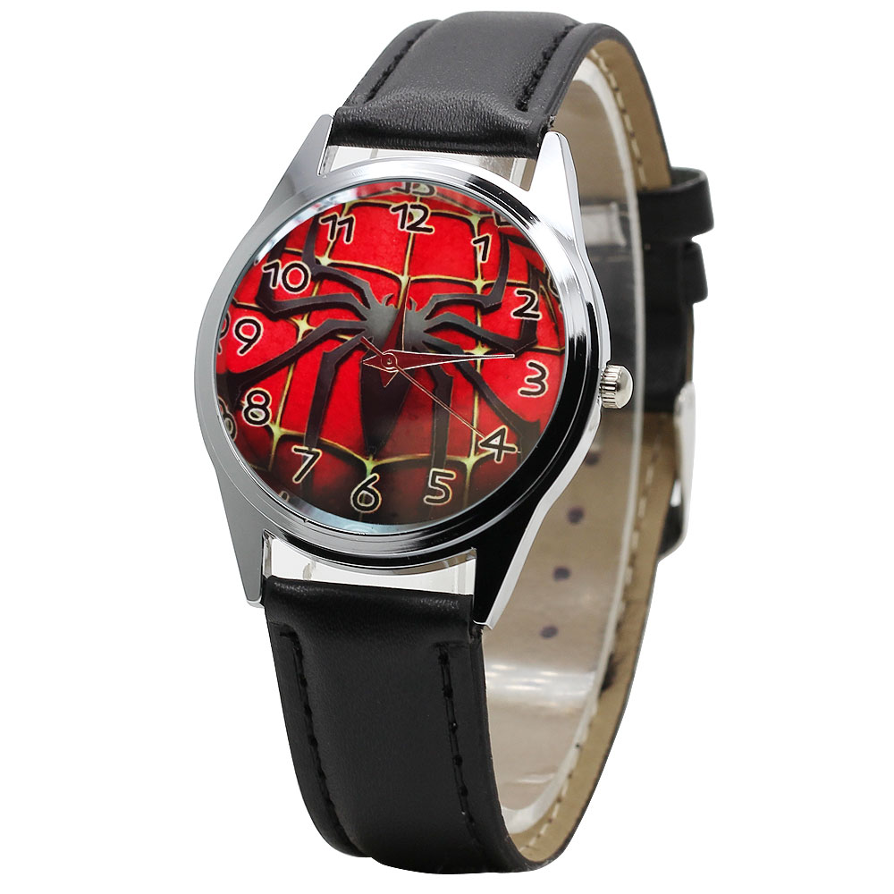Children Watch Quartz Jelly Kids Clock Boy Students Wristwatches Cartoon Spider Animal Children's Watch Gift Relogio kol saati