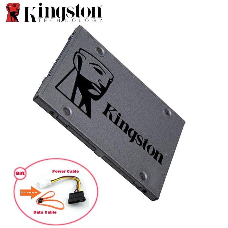 Kingston SSD SATA3 2.5 polegada 60 GB 120 GB 240 GB 480 GB Interno Sólido State Drive de Disco Rígido HDD Disco SSD Para PC Computador Portátil