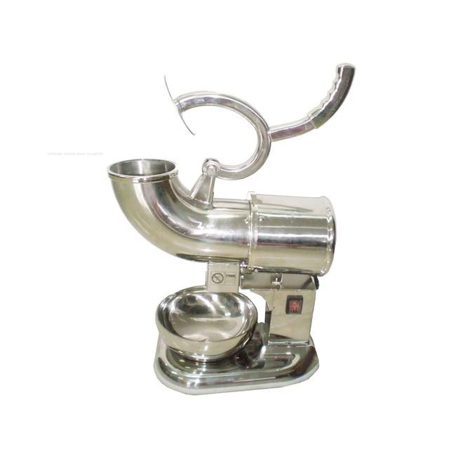 1pc 110v 220v entièrement en acier inoxydable Machine à cône de neige, fabricant de rasoir à glace, fabricant de concasseur à glace