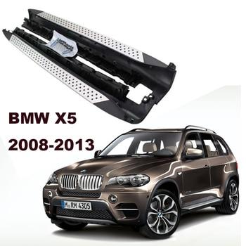 用bmw x5 e70 2008-2013車のランニングボードオート側ステップバーペダル高品質ブランド新しいオリジナルデザインnerfバー