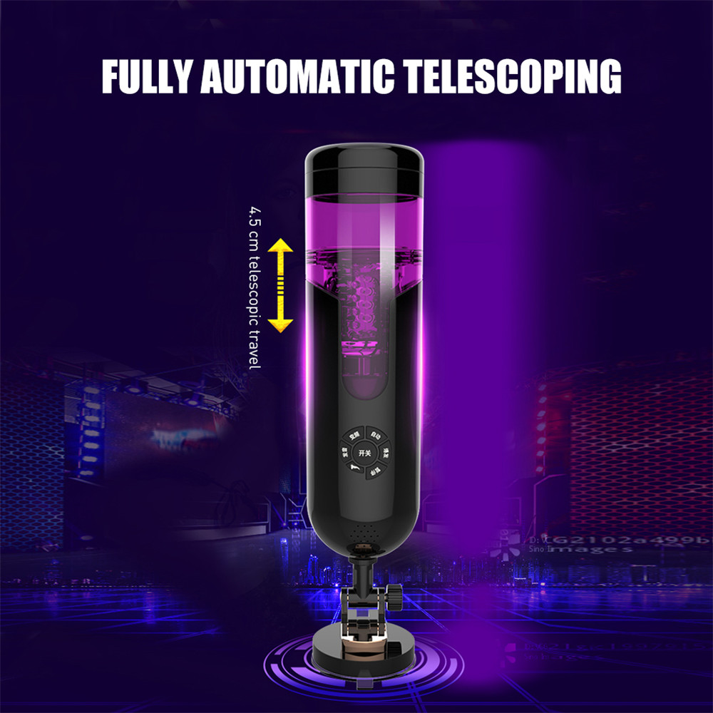 Automatic Sex Machine Voice Hand Free Electric Male Masturbation Blowjob Realistic Vagina Cup Pussy Vibrator for Man Sex Toys 7