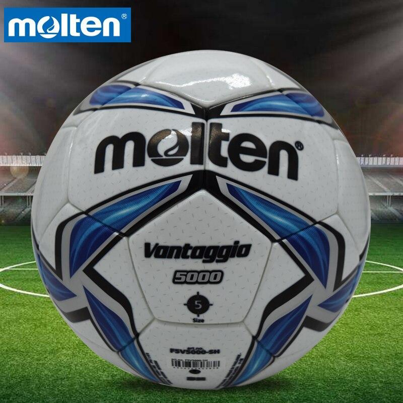 Original Molten FV5000 Size 5 PU Match Ball Professional football soccer goal balls of football ball balon bola de futbol
