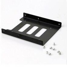 """Профессиональный 2,"""" SSD HDD до 3,5 дюймов металлический монтажный адаптер Кронштейн Док-станция Держатель для жесткого диска для ПК корпус жесткого диска"""