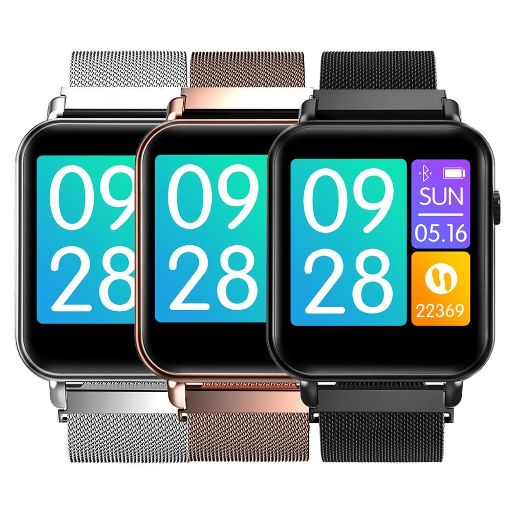 Y6pro podomètre montre intelligente Fitness sport pression artérielle fréquence cardiaque Smartwatch surveillance pas à pas podomètre-in Bracelets connectés from Electronique    1