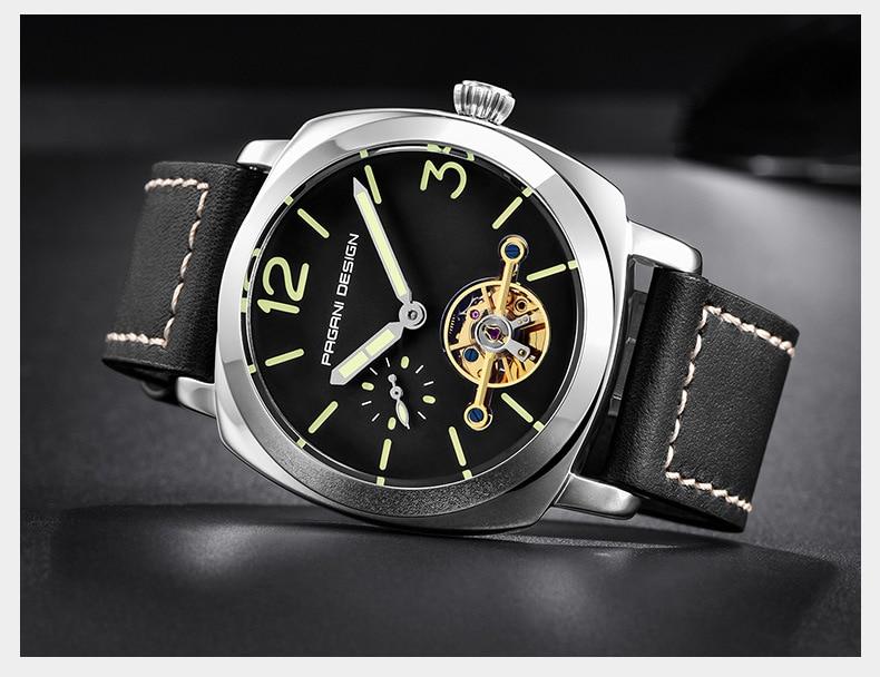 DIDUN diver montre hommes top luxe marque quartz montre hommes militaire chronographe montre antichoc 50 m étanche montre-bracelet