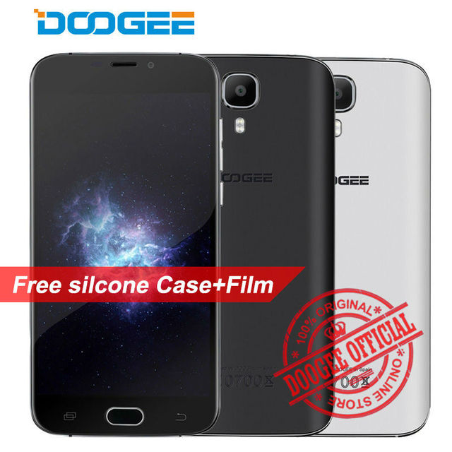 "Doogee X9 Pro Mobile Phone fingerprint 5.5"" MTK6737 Quad Core Android 6.0 2GB RAM 16GB ROM Metal 3000mAh 13MP 4G LTE Smartphone"