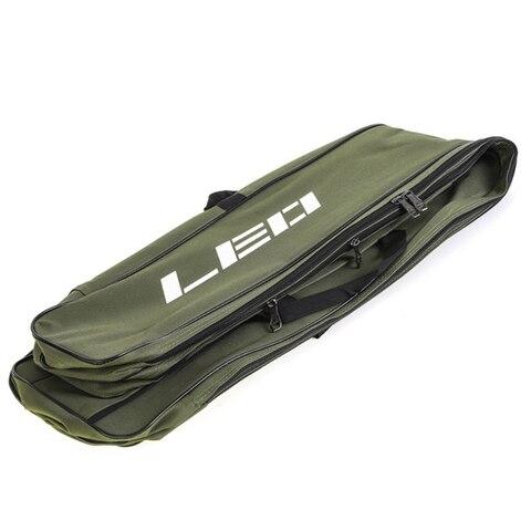 Leo Fishing Bags 130Cm Foldable Multi-Purpose Fishing Bags Fishing Rod Bags Zipped Case Fishing Tackle Bags Pouch Holder Karachi
