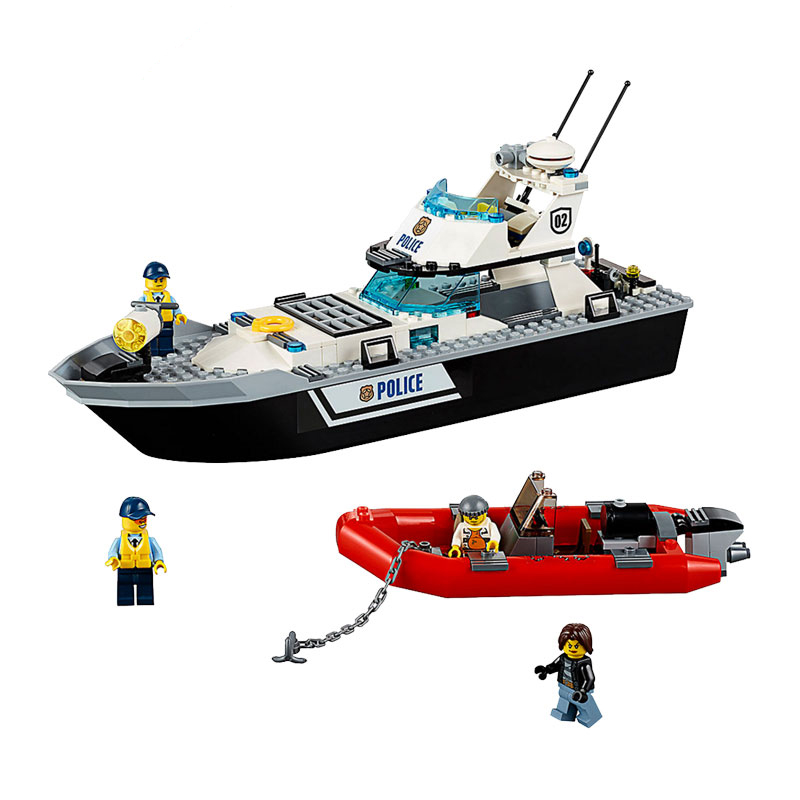 Legoing City Figure Blocks Police Patrol Boats Model Action Patrol boat Figures City Legoing Super Heroes Kids Toys For ChildrenLegoing City Figure Blocks Police Patrol Boats Model Action Patrol boat Figures City Legoing Super Heroes Kids Toys For Children
