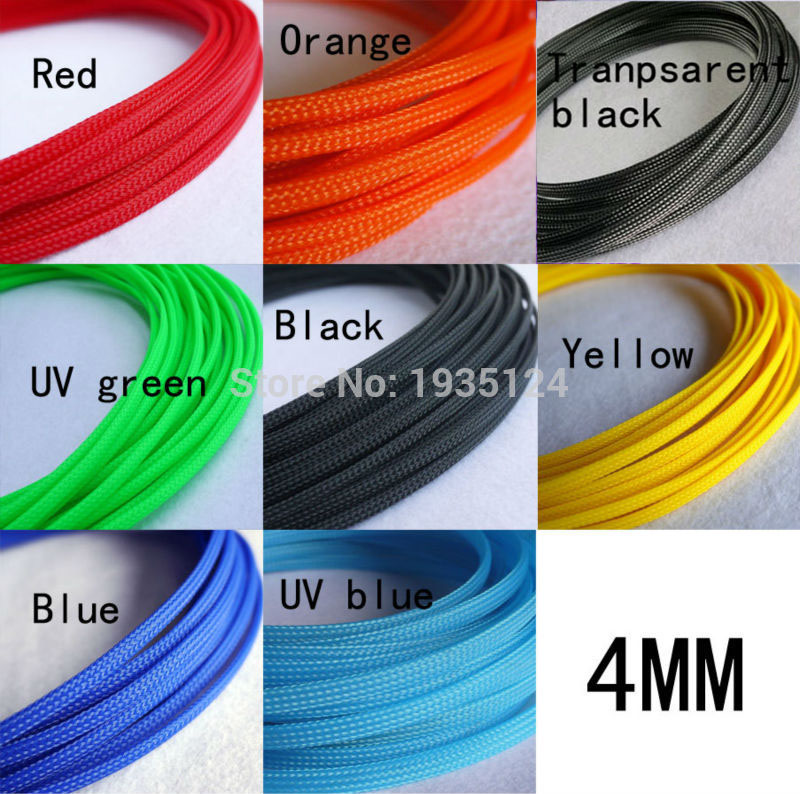 8mm Black PVC Flexible Sleeving//Tubing Cable Wiring Harness Loom Protection 5m