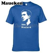 a18cc7844 Belgia mężczyzn Eden Hazard 10 zabawnych t shirt chelsea męskie T shirt  gitara ikona patriotów koszulki