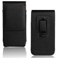 Belt Clip PU Leather Waist Holder Flip Cover Pouch Case For Highscreen Power Four Zera S