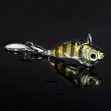 metal vib 3g fishing spoon lures China bass carp ice fishing lure bait isca artificial winter tackles cheap wobbler accessories