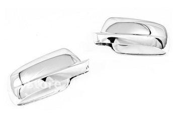 Wysokiej jakości chromowany lusterko boczne Cap wymiana dla VW Bora/Jetta MK4 (ten sam rozmiar) darmowa wysyłka