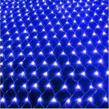 3*2M girlanda żarówkowa LED Light Net świąteczne oświetlenie zewnętrzne oświetlenie Led dekoracja na ścianie lampki ślubny naszyjnik tanie tanio GAINLUMEN CN (pochodzenie) 2 years CHRISTMAS Z tworzywa sztucznego Żarówki led Brak 220 v Klin 300inch 1-5 m Bordowy Fioletowy