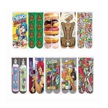 2018 Men/Women 3d Print Socks Harajuku Casual Ankle Polyester Cotton Hamburger Printing Short Autumn Spring Unisex