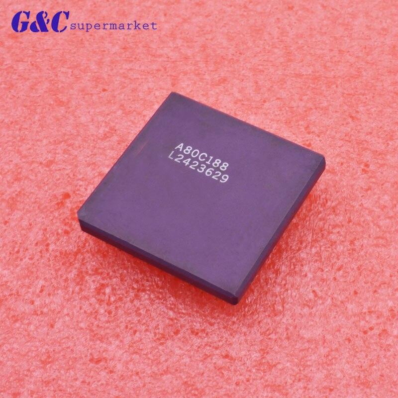 1/5PCS A80C188 PGA 16-Bit GOOD QUALITY IC1/5PCS A80C188 PGA 16-Bit GOOD QUALITY IC