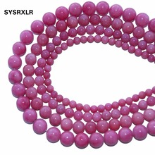 Wholesale Gules Natural Stone Aqua Amazonite Round Loose Beads For Jewelry Making DIY Bracelet Necklace 6 8 10 12 MM Strand