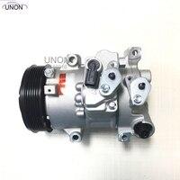 A/C Compressor de Ar Condicionado Bomba De Refrigeração TSE14C para Toyota Corolla Matrix 8831068032 447150 4840RC 8831002710 8831002711|Ventiladores e Kits|   -