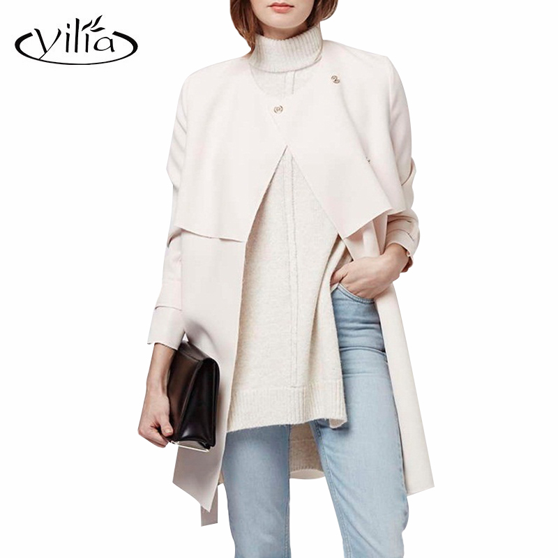 Ladies Cream Winter Coats | Fashion Women's Coat 2017